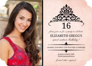 antiqued-pink-black-tiara-birthday-invitation_10005_1_large_elegant