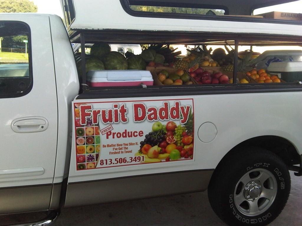 www.doorhangersetc.com - FruitDaddysSign
